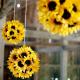7月-8月夏の季節装飾品「ヒマワリ」店舗演出アイデア集【画像】